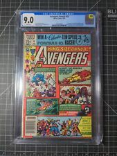 Avengers Annual 10 CGC 9.0 WP Newstand Edition