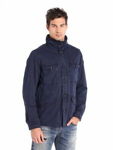 Diesel Men's J-Akual Jacket, Midnight/Blue,