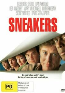 SNEAKERS DVD 1992 NEW Region 4 Robert Redford, Dan Aykroyd, Sidney Poitier