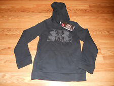 NWT Girl's Youth Small Black Under Armour Hoodie 1282108