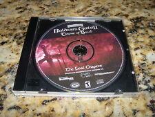 Baldur's Gate II Throne of Bhaal: The Final Chapter (PC, 2001) Near Mint