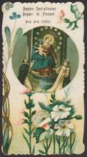 SANTINO HOLY CARD REGINA ROSARI DI POMPEI 1918