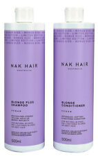 NAK Blonde Shampoo 375ml and Conditioner 375 Ml