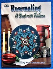 Rosemaling A Brush With Tradition Painting Pattern Book Kristen Birkeland Unused