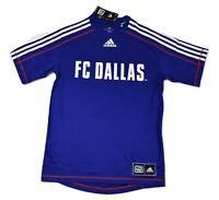 adidas Mens MLS FC Dallas Soccer Jersey New S, M, L, XL