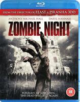 Zombie Night Blu-Ray (2014) Daryl Hannah, Gulager (DIR) cert 18 ***NEW***