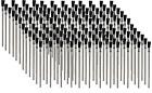 "LOT OF 144  ACID FLUX BRUSH 6"" LG X 3/8"" SOLDER, PLUMBING, GLUES, TOUCH UPS"