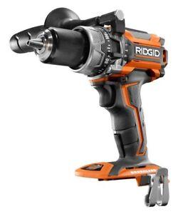 "Brand New RIDGID 18 Volt GEN5X Brushless 1/2"" Hammer Drill R86116"