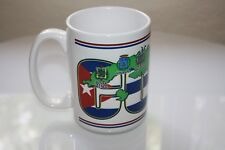 Large Cuban Map Coffee Mug 16oz