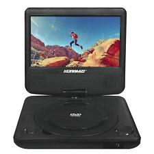 """Koramzi Pdvd-700 Portable 7"""" Dvd Player with Rechargeable Battery"""