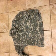 US Army Combat Uniform ACU Shirt Coat Digital Cammo Used Large Regular LR G5