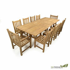 Teak More than 8 Up to 10 Garden & Patio Furniture Sets