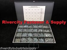 Phillip Pan Head Machine Screw Assortment With Nuts & Washers & Metal Tray 9400P