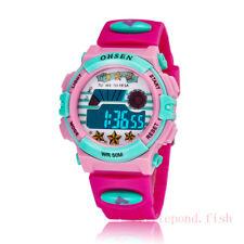OHSEN Pink Funny LED School Watch Sport Digital Child Girls Quartz Watch Watches