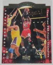1996/97 Michael Jordan Chicago Bulls Upper Deck A Cut Above Insert Card #CA8 NM