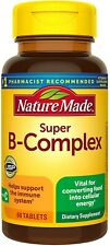 Nature Made Super B-Complex Tablets with Vitamin C and Folic Acid Tablets -...