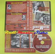 DVD film SULLE ORME DEL VENTO TERRA DI FUORILEGGE 2009 John Wayne DeA no vhs(D2)