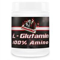 Turbo Regeneration Booster Glutamin L-Glutamin 100% Amino Aminosäuren KnockOut
