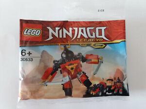 Brand New Lego - Ninjago Legacy Sam-X Quay Mech - 30533 - Polybag