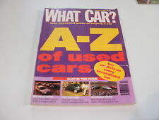 WHAT CAR ?   MAGAZINE  FEBRUARY  1992    ENGLISH MONTHLY