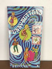 Vintage Hassenfield Bros Hasbro Funny-Buttons Kit 1967 SEALED