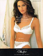 PUBLICITE ADVERTISING  1995   PLAYTEX  soutien gorge sous vetements