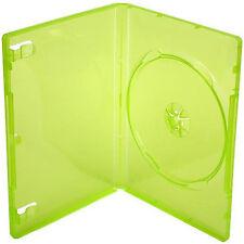 200 X XBOX 360 Gioco di sostituzione caso traslucido VERDE-confezione da 200