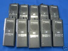 Motorola Radius 10ea GP300 Large walkie talkie Kit, without batteries - Used