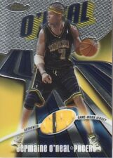 2003-04 Finest #104 Jermaine O'Neal JERSEY /999 Pacers
