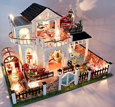 DIY Handcraft Miniature Project Wooden Dolls House My Little Villa in Turkey