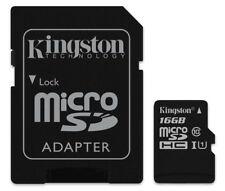 16GB Kingston micro SD HC Memory Card For Vodafone Smart Turbo 7 Mobile Phone