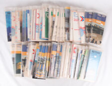 NICE Vintage Train Timetables Lot of 74 from VIA and Amtrak, 1972 to 1986