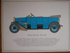 STAMPA 24 HP e 20/30 HP  1910-1920 ALFA ROMEO  ANNI 60 (M14-1 )