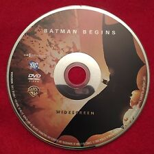 Batman Begins Dvd Disc Widescreen Edition Fast Free Shipping