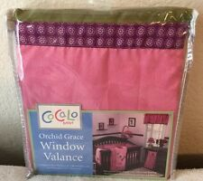CoCaLo Baby Orchid Grace Window Valance