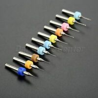 10Pcs Nozzle Head Cleaning Drill Microbit 0.2//0.3//0.4//0.5/_1.0//1.2mm Multi Size