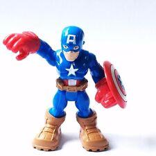 "PlaySkool Heroes CAPTAIN AMERICA 2.5"" Marvel Adventures  Super Hero Squad QA69"
