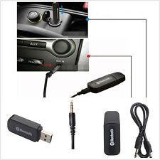 Portable Mini 3.5mm AUX Autos Off-Road USB Bluetooth Adaptor Music Receiver Kit