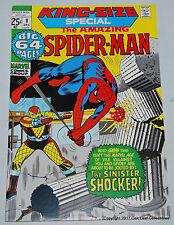 Spider-Man King Size Special 8 1971 Marvel Comic Book NM Sinister Shocker!
