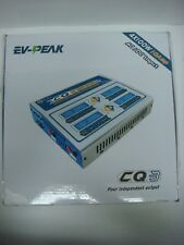 EV-PEAK CQ3 4X 100W 10A 1-6S Balance Charger with JST_XH Adapter Board W5S7
