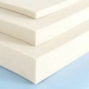HIGH Density Foam Upholstery Foam Cushion Seat Pad cut to any size Replacement