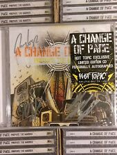 A CHANGE OF PACE - Prepare the Masses - CD Brand New AUTOGRAPHED Limited Edition