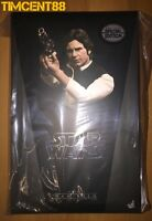 Ready! Hot Toys MMS261 Star Wars IV A New Hope Han Solo Harrison Ford Special