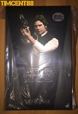 Ready! Hot Toys Star Wars Episode IV A New Hope Han Solo Harrison Ford Special