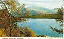 Wales: Llyn Padarn and Snowdon, North Wales - Posted 1974