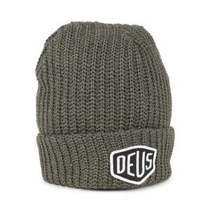 Deus Ex Machina Melange Beanie Hat - Olive