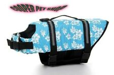 Pet Dog Life Jacket Safety Vests and Life Preservers XXS - XXL Blue