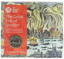 Royal Mint 2016 Great Fire of London £2 Coin - Brilliant Uncirculated Two Pound