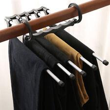Closet Organizer Clothes Rack Space Saving Trousers Pants Scarf Hanger Hook
