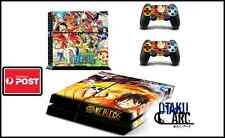 PS4 Skin - One Piece OP 01 - Playstation 4 Console+2 Controllers Skin set